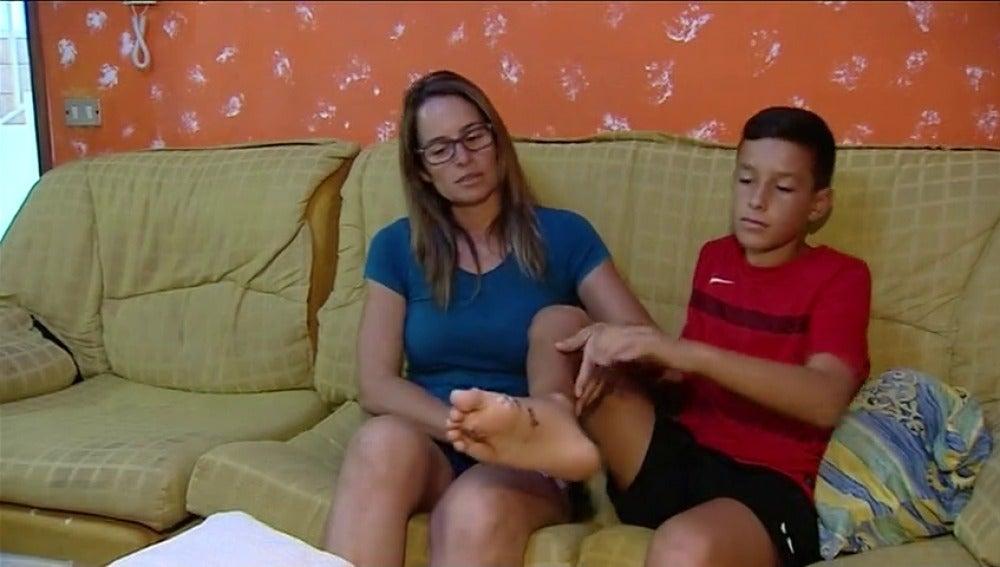 Un tiburón, posible causa de las heridas de un niño que estaba surfeando en una playa de Gran Canaria