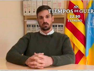 Dante Pérez, el alcalde de Gimenelles i Pla de la Font