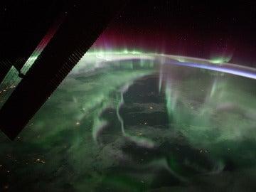 Imagen captado desde la Estación Espacial Internacional