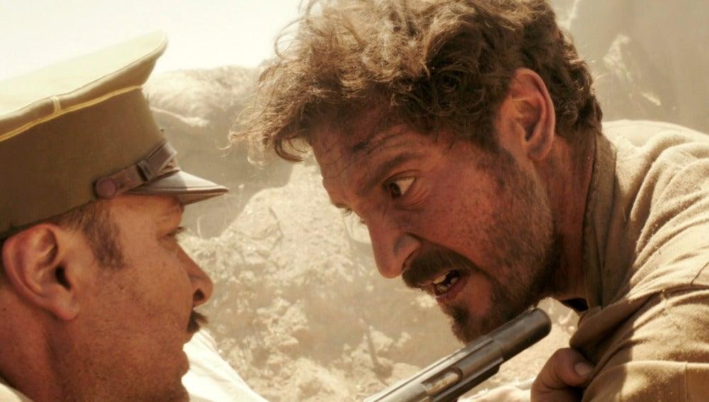 """Andrés se enfrenta al Comandante Silva: """"Antes morir que entregarnos"""""""