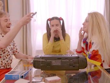 """Aitana: """"Hay que hacer maniobras de ingeniero para grabar una cinta"""""""