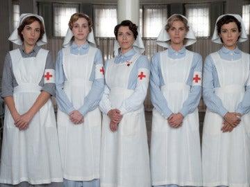Las redes sociales aplauden la labor de las enfermeras en 'Tiempos de guerra'