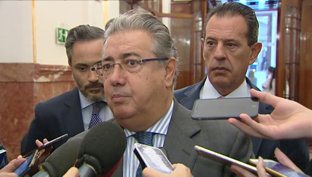 INTERIOR REFUERZA LA SEGURIDAD EN  CATALUÑA CON 8.000 GUARDIAS CIVILES