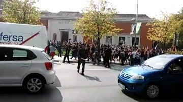 Protestas en Bilbao por la presencia del autobús de 'Hazte Oír'