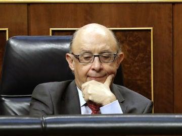 Cristóbal Montoro, ministro de Hacienda