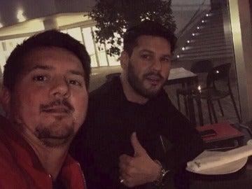 Rodrigo Messi y su otro hermano