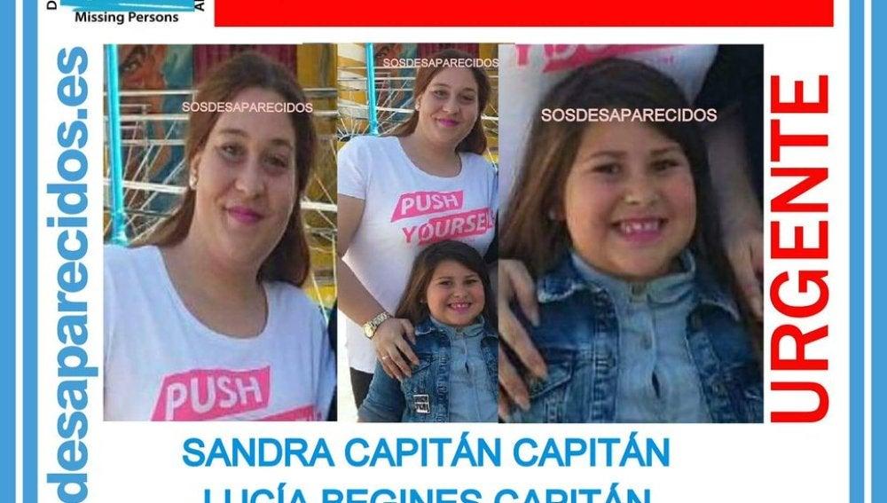 Sandra y Lucía, madre e hija desaparecidas en extrañas circunstancias en Sevilla