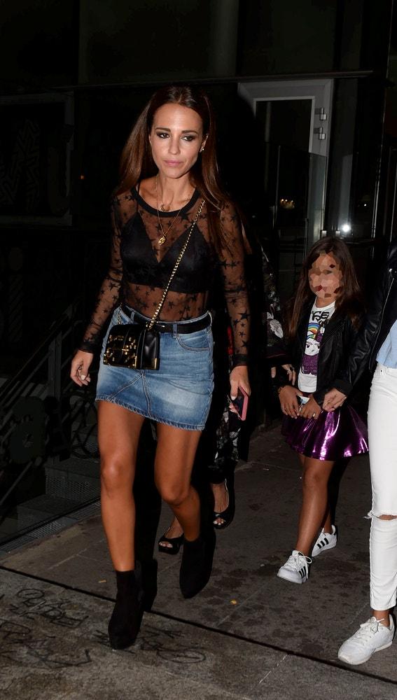 Paula Echevarría junto a su hija Daniella