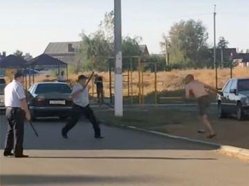 Un hombre intenta huir en Rusia después de decapitar a una bebé