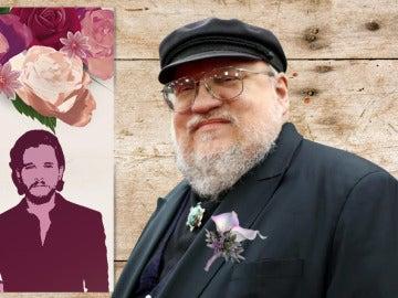 ¿Organizará George RR Martin la boda de Kit Harington y Rose Leslie?