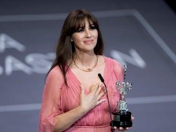 Monica Bellucci, galardonada con el Premio Donostia