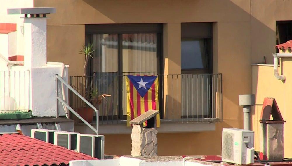 Una bandera independentista