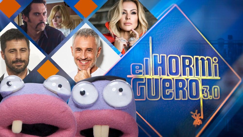 Hugo Silva, Paco León y Alexandra Jiménez, Sergio Dalma y Anastacia se divertirán en 'El Hormiguero 3.0'