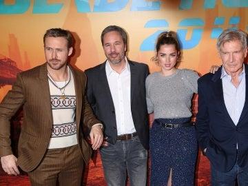 Villeneuve y el equipo de 'Blade Runner 2049'