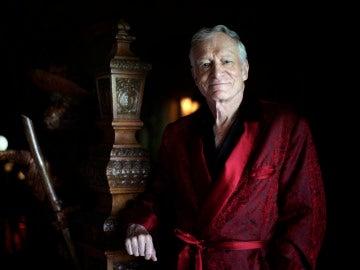El fundador de Playboy, Hugh Hefner