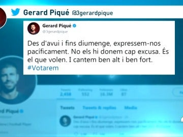 "Gerard Piqué se posiciona a favor del referéndum catalán: ""Votaremos"""