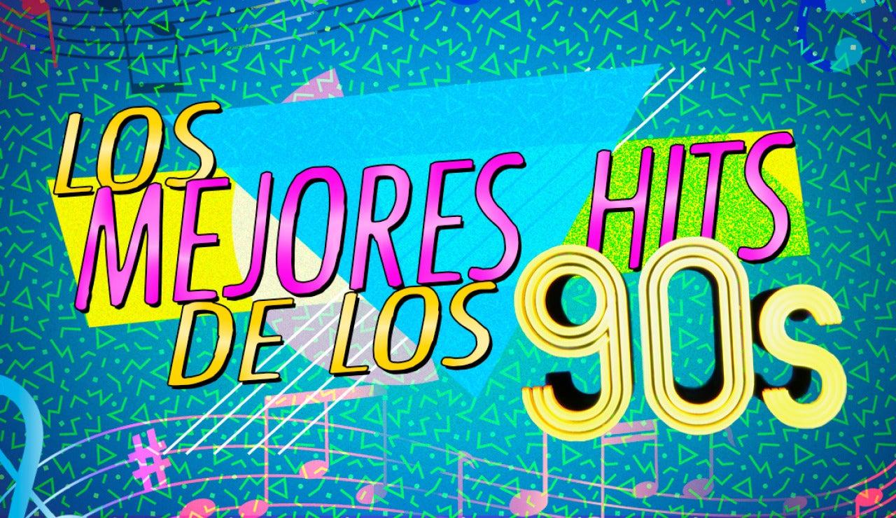 Disfruta de los mejores éxitos musicales de la década de los 90