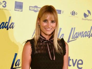 Alba Carrillo durante el estreno de 'La Llamada'