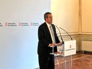 El conseller de Interior de la Generalitat, Joaquim Forn