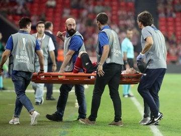 Iker Muniain lesionado