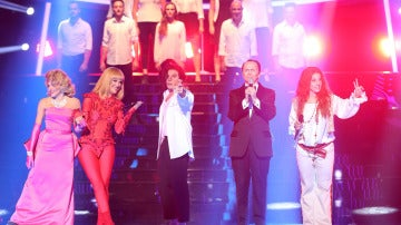 Angy, Santiago Segura, Roko, Ruth Lorenzo y Blas Cantó inauguran la sexta edición de 'Tu cara me suena'