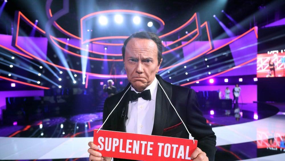 Àngel Llàcer corona a Santiago Segura como el 'Suplente Total'