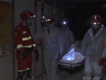 Así ha rescatado la UME el cuerpo del español atrapado en México