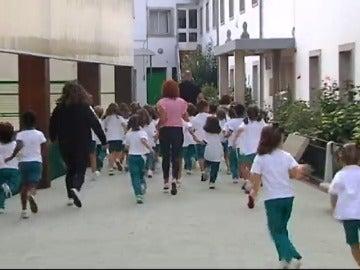 Correr a diario: Asignatura obligatoria en un colegio de A Coruña