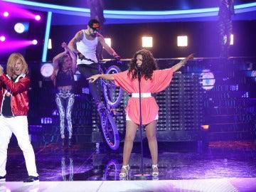 Diana Navarro imita a Kelly Rowland