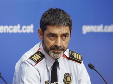 El mayor de los Mossos d'Esquadra, Josep Lluís Trapero