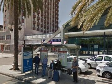 Estación de autobuses de Valencia, donde fue interceptada la víctima