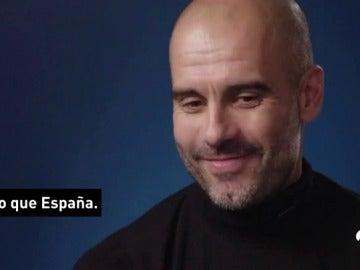 """Guardiola se 'moja': """"Entrenaría a la Selección española de fútbol"""""""