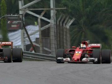 Vettel, contra Alonso