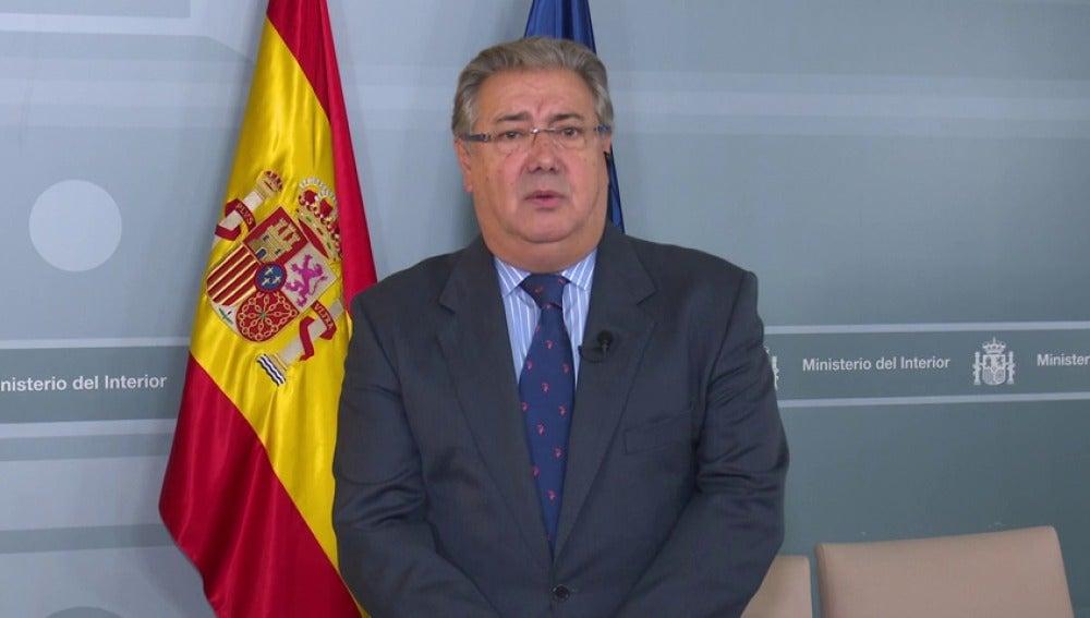 El Ministerio de Interior anuncia que ha desactivado el sistema informático de la Generalitat