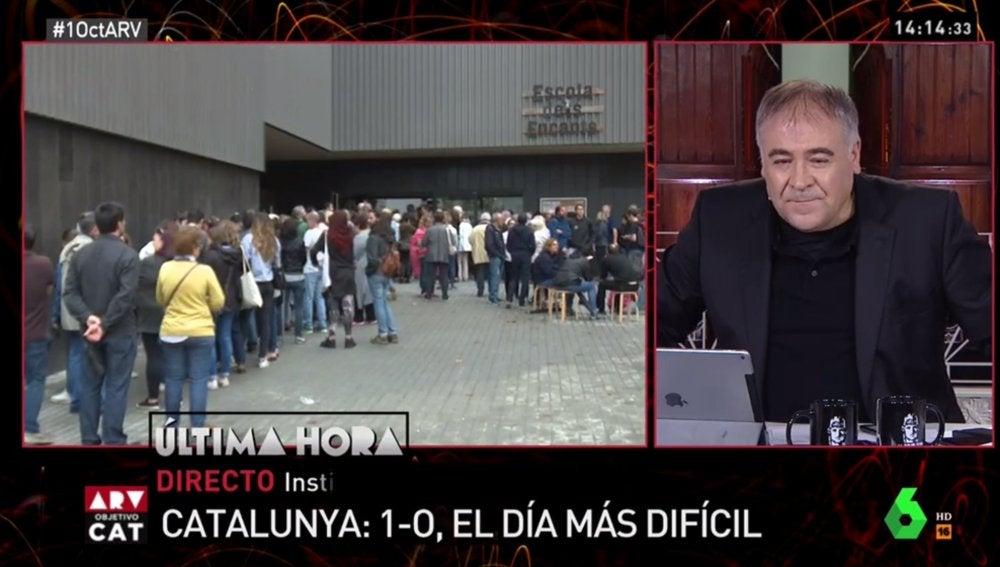 Al rojo vivo: objetivo Cataluña