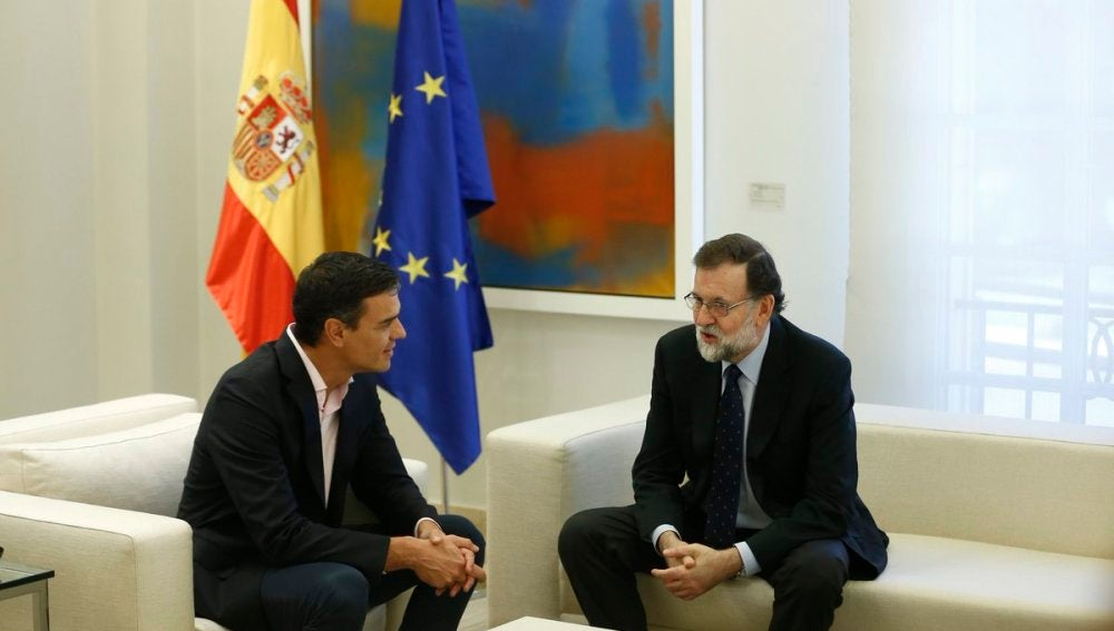 Mariano Rajoy y Pedro Sánchez en una imagen de archivo
