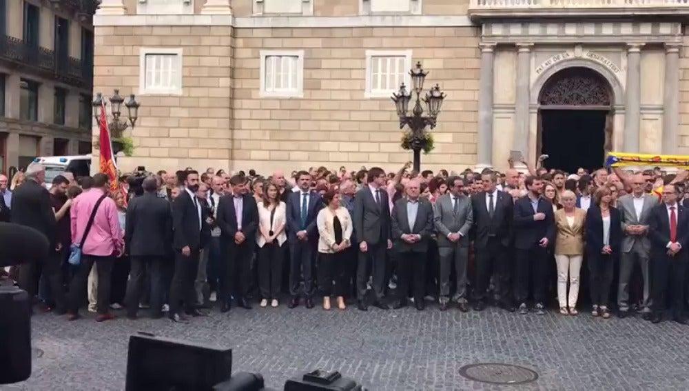 Puigdemont preside una reunión extraordinaria del Consell Executiu este lunes