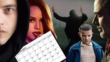 Calendario de estrenos de series en octubre 2017
