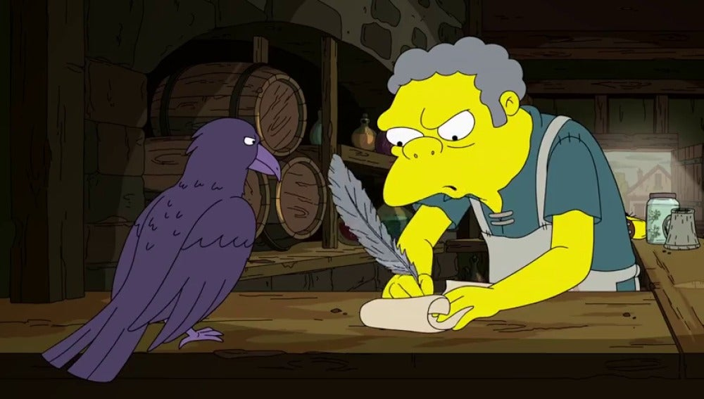 Parodia de 'Juego de Tronos' en el estreno de 'Los Simpson'