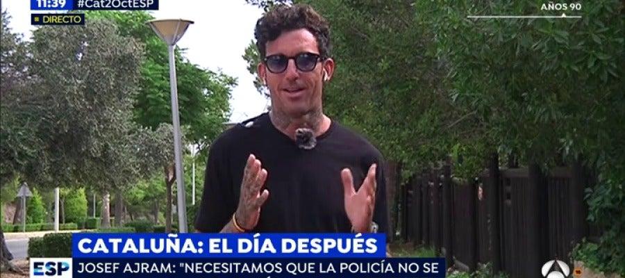 Antena 3 tv josef ajram puigdemont ha conseguido que for Antena 3 espejo publico hoy