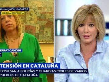 """Susanna Griso, a la alcaldesa de Calella: """"No podemos poner a la población civil en una situación tan complicada"""""""