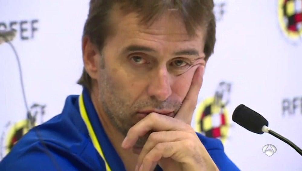 """Julen Lopetegui: """"El deporte une y consigue cosas imposibles"""""""
