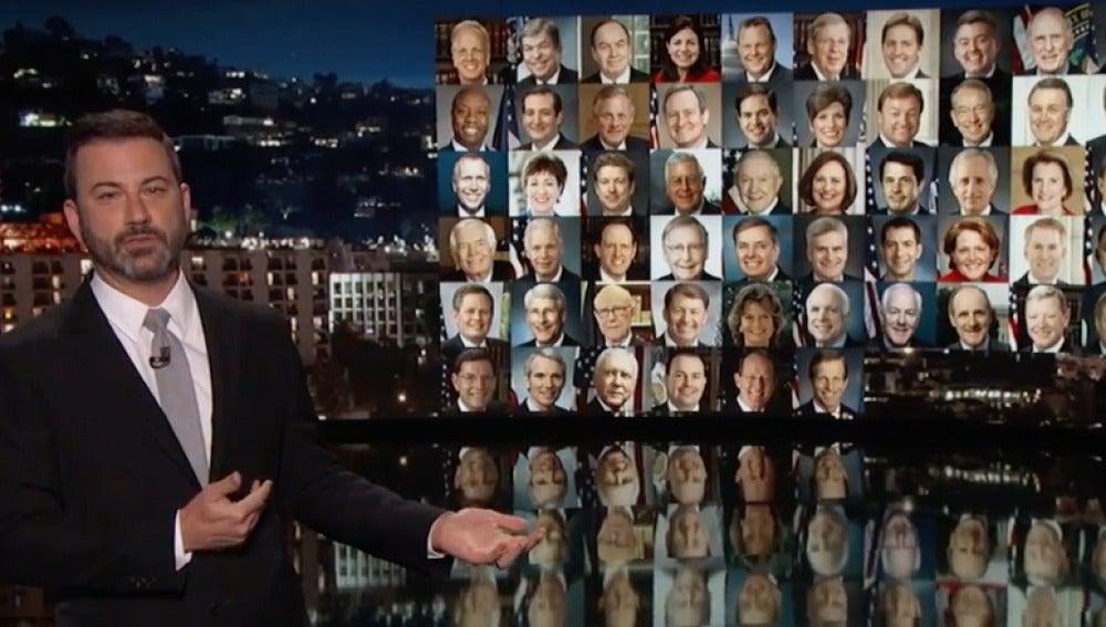 Jimmy Kimmel, emocionado tras el tiroteo en Las Vegas