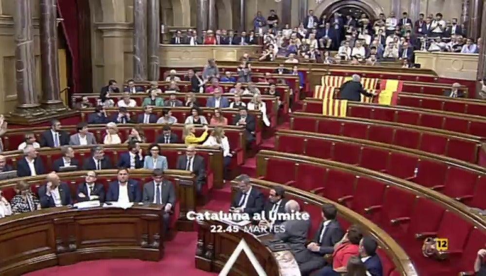 El martes a las 22:45 horas, especial informativo 'Cataluña al límite' con Sandra Golpe