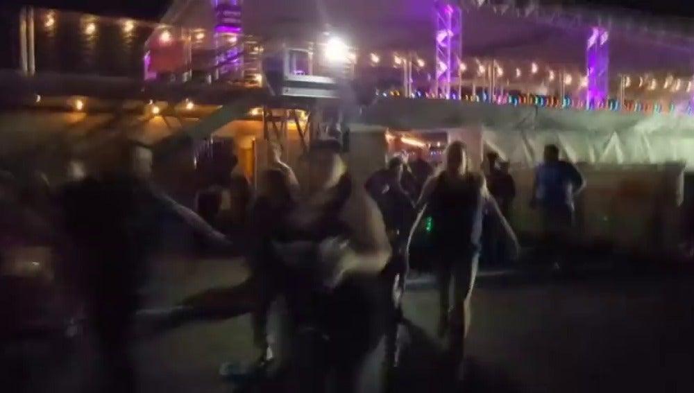 La policía investiga nuevas imágenes del tiroteo de las Vegas