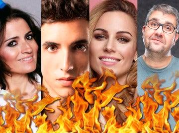 Las actuaciones con fuego más impactantes de la historia de 'Tu cara me suena'