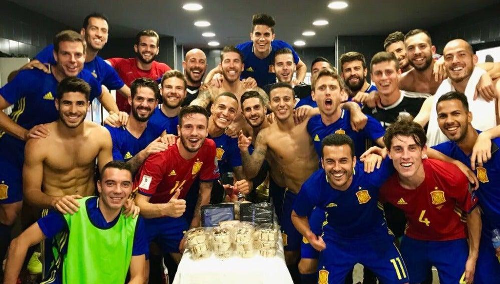 La selección española