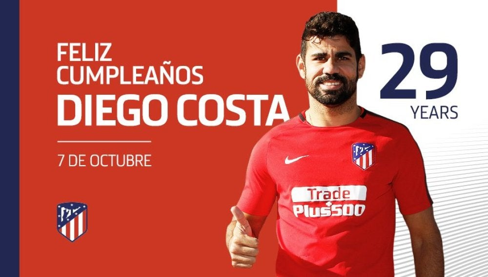 Diego Costa cumple 29 años