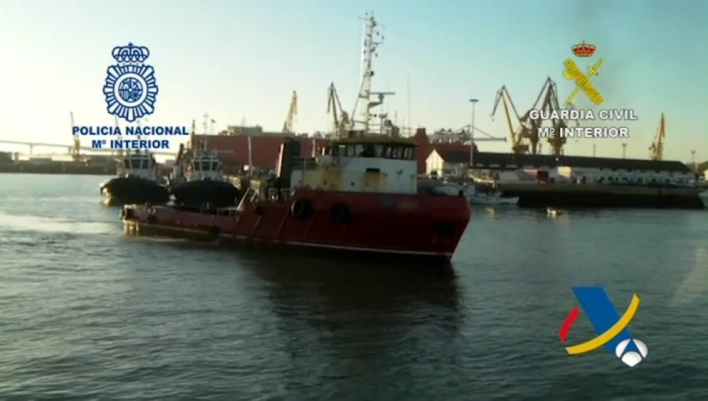 cuatro toneladas cocaína interceptadas alta mar