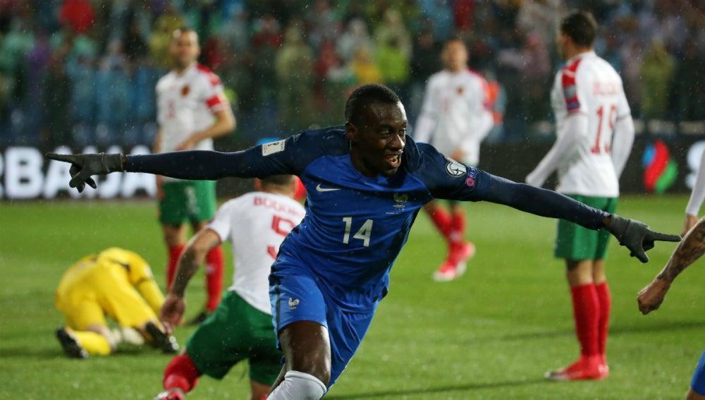 Matuidi celebra un gol